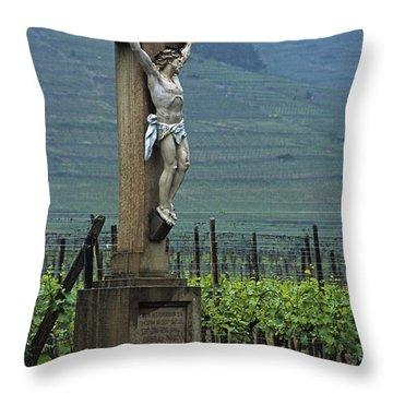 Vineyard Christ Throw Pillow