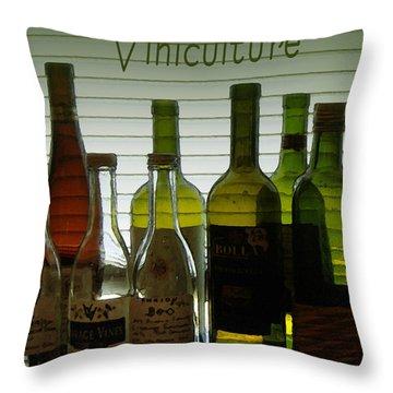 Viniculture  Throw Pillow