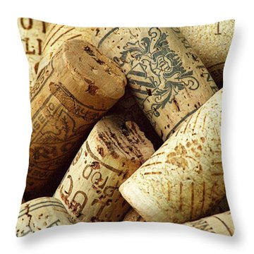 Vino Throw Pillow