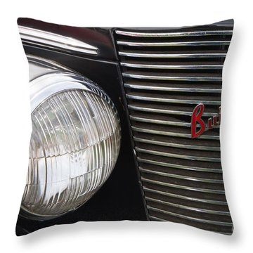 Vintage 1940 Buick Throw Pillow