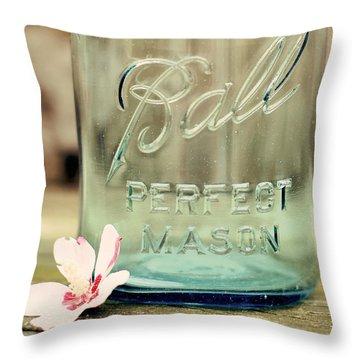 Vintage Ball Perfect Mason Throw Pillow