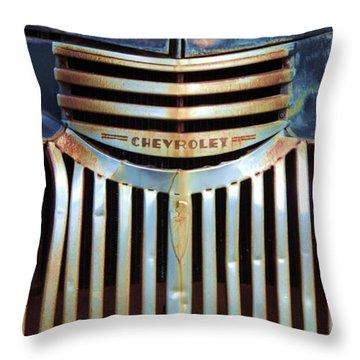 Vintage Chevrolet 005 Throw Pillow
