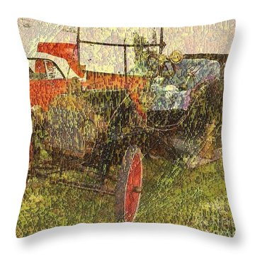 Vintage Classic Automobile Throw Pillow
