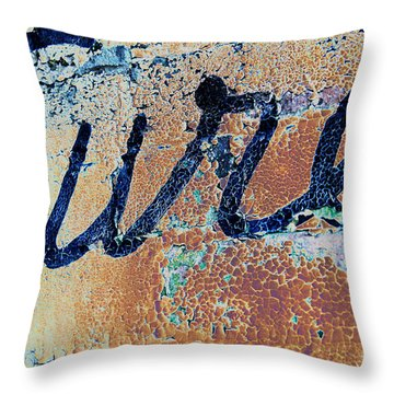 Throw Pillow featuring the photograph Vintage Eureka by Steven Bateson