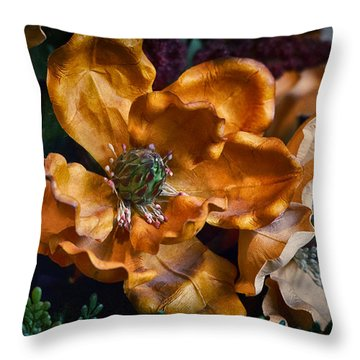 Vintage Feel Throw Pillow