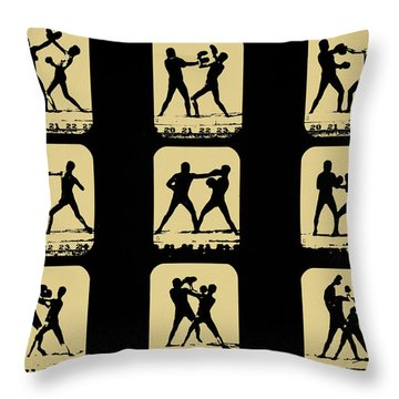 Vintage - How To Box Throw Pillow by Bill Cannon