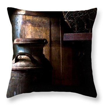 Vintage Indiana Throw Pillow by Jim Finch