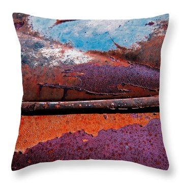 Vintage Patina No. 1 Throw Pillow