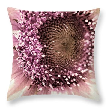 Vintage Sunflower  Throw Pillow