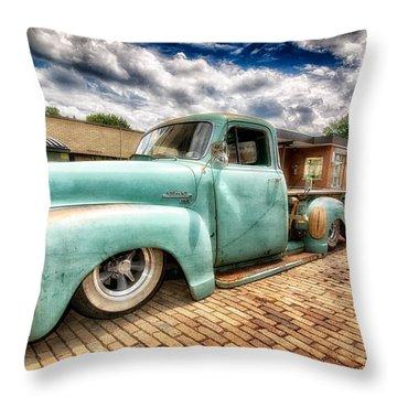 Vintage Truck  Throw Pillow