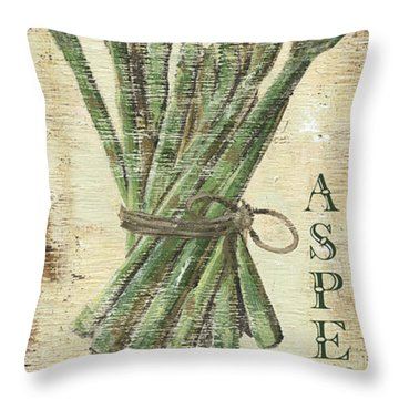 Vintage Vegetables 1 Throw Pillow