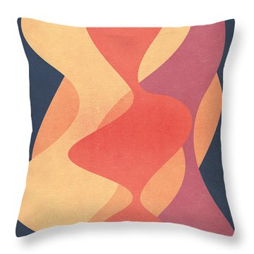 Vintage Throw Pillow by VessDSign