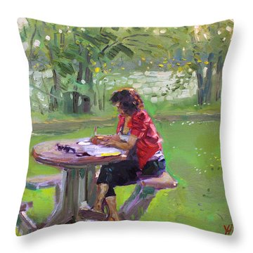 Viola - The Math Teacher Throw Pillow