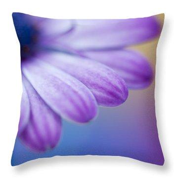 Violet 2 Throw Pillow