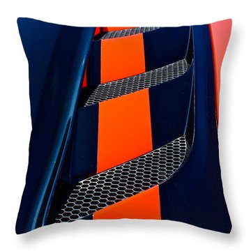 Throw Pillow featuring the photograph Viper by Linda Bianic