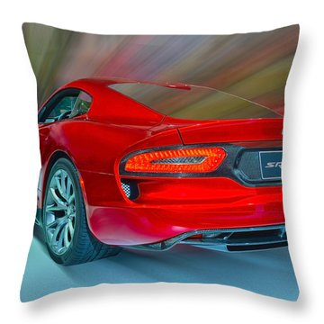 Viper S R T 2013 Throw Pillow