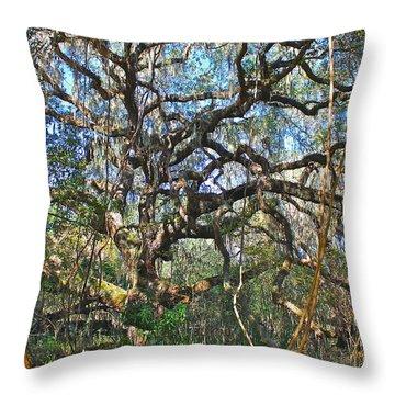 Virgin Forest Throw Pillow