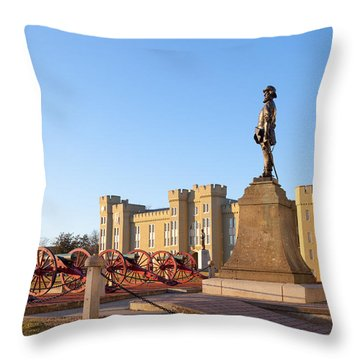 Virginia Military Institute Throw Pillow