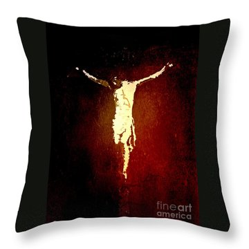 Vision Of Christ Throw Pillow