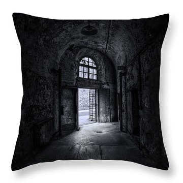 Visions From The Dark Side Throw Pillow