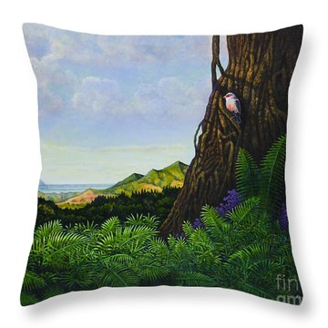 Visions Of Paradise V Throw Pillow