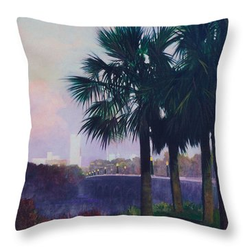 Vista Dusk Throw Pillow by Blue Sky