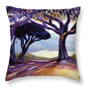 Vista Point Throw Pillow by Jen Norton