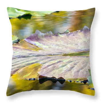 Vitality Throw Pillow