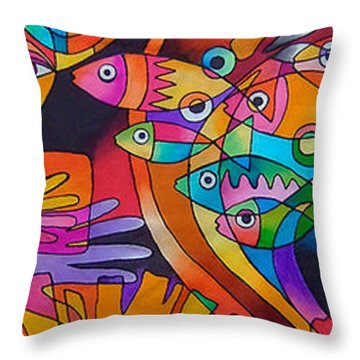 Viti Tolu - Fiji IIi Throw Pillow