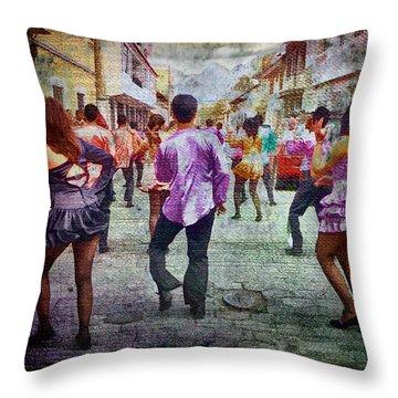 Viva La Fiesta Throw Pillow