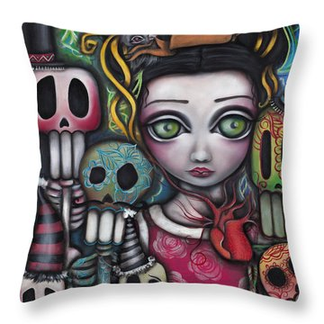Viva La Vida  Throw Pillow