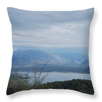 Vivary  Throw Pillow by George Katechis