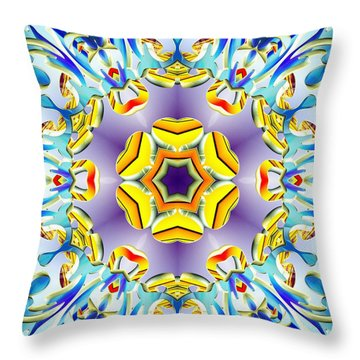 Vivid Expansion Throw Pillow
