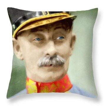 Vlasta Burian Throw Pillow