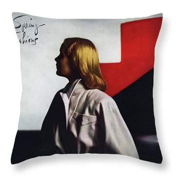 Fashion Illustration Throw Pillows