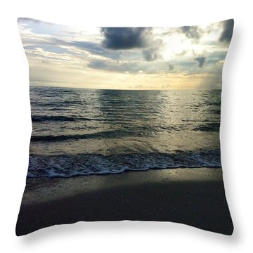 Voice Of A Sunset Throw Pillow