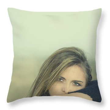 Voice Of My Silence Throw Pillow