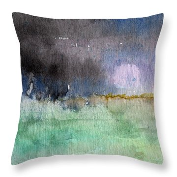 Voices Carry Throw Pillow by Linda Woods