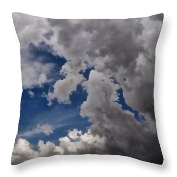 Voices In The Sky Throw Pillow by Glenn McCarthy Art and Photography