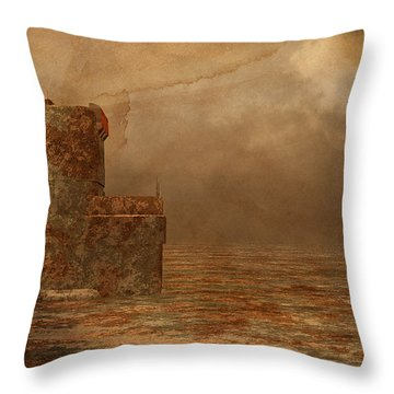 Void - Life After Radiation Throw Pillow