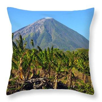 Volcan Concepcion Nicaragua Throw Pillow