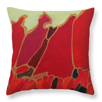 Volcano Vault Throw Pillow