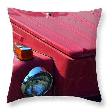 Volkswagen Thing Throw Pillow by Michelle Calkins