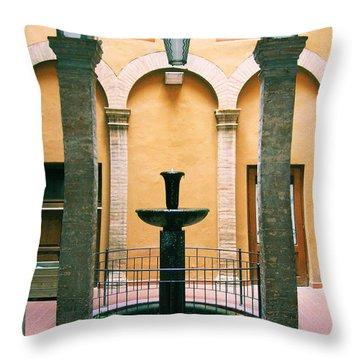 Volterra Courtyard Throw Pillow