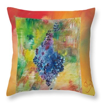 Voluptuous Throw Pillow