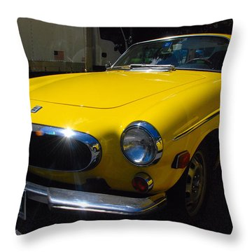 Volvo P1800es Throw Pillow