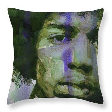 Pop Art Portraits Throw Pillows