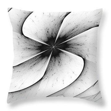 Throw Pillow featuring the digital art Vortex by Arlene Sundby