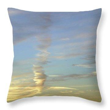 Vortex Cloud Throw Pillow