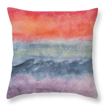 Voyage Throw Pillow by Susan  Dimitrakopoulos